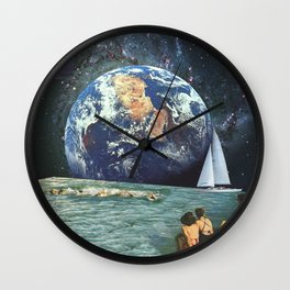 Earthly Currents Wall Clock