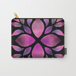 Mandala Violet Carry-All Pouch