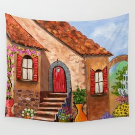 Tuscan Farmhouse Wall Tapestry