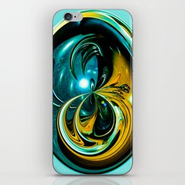 """Cosmic Abstraction"" iPhone Skin"
