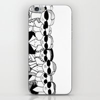 vogue iPhone & iPod Skins featuring Vogue by Rosalia Mendoza