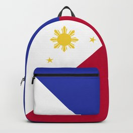 Philippines flag emblem Backpack