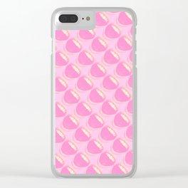 Bubblegums Clear iPhone Case