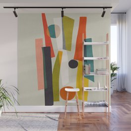 Sticks and Stones Wall Mural