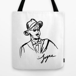 James Joyce Portrait Mug Tote Bag