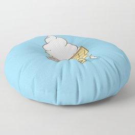 Everyone Poops (Blue) Floor Pillow
