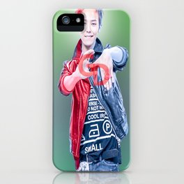 GD (GDRAGON) iPhone Case