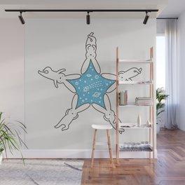 Rabbit Star Wall Mural