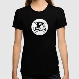 Pirate Cat Flag T-shirt