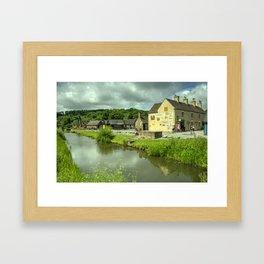 Coalport Canal  Framed Art Print