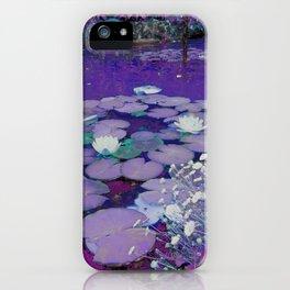 Purple Lake Dreaming iPhone Case