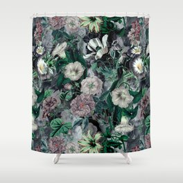Floral Camouflage VSF016 Shower Curtain
