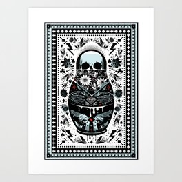 Russian Doll Art Print
