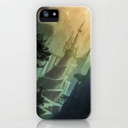 Mysterious Realm iPhone Case