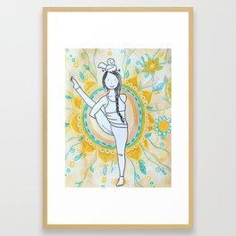 bird(s) of paradise Framed Art Print