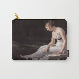 Melancholy, Constance-Marie Charpentier, 1801 Carry-All Pouch