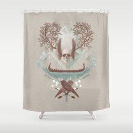 Ghosts of Scandinavia. Iceland. Shower Curtain
