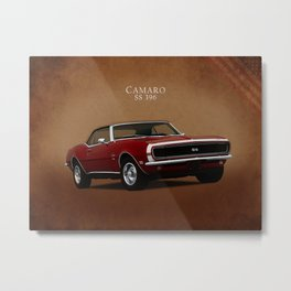 Camaro SS 396 Metal Print