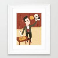 shakespeare Framed Art Prints featuring Shakespeare by Patrick O'Leary