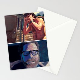Walter White - First Vs. Last Stationery Cards