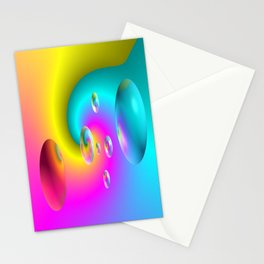 Paintballs Stationery Cards