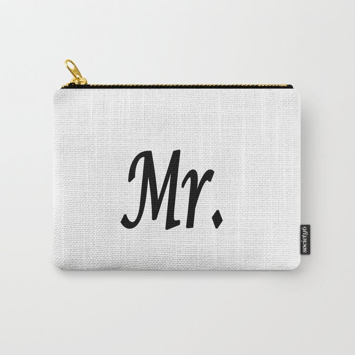 Mr. Carry-All Pouch