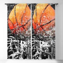 Basketball art swoosh 103 Blackout Curtain