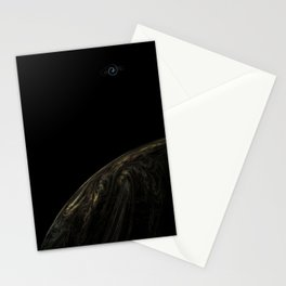 Quarter Bubble Stationery Cards