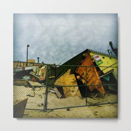 Restore the Shore Metal Print