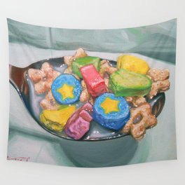 Marshmallow Cereal Wall Tapestry