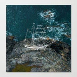 Shipwreck - Maui Canvas Print