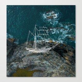 Shipwreck - Maui Canvas Print