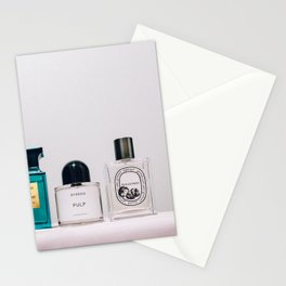 perfume ver.pink Stationery Cards