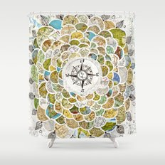 Wanderbloom Shower Curtain