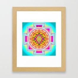 Shri Chakra Framed Art Print