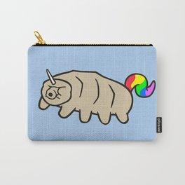 Tardicorn (Unicorn Tardigrade) Carry-All Pouch