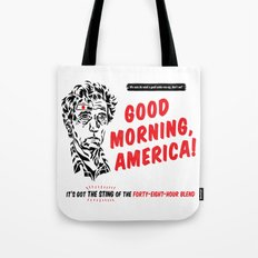 Good Morning, America! Tote Bag