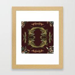 Bugs 'n' Reptiles Framed Art Print