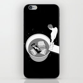 Dive into you iPhone Skin