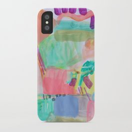 Coral Water iPhone Case