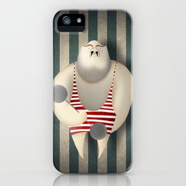 Mr Strong iPhone Case