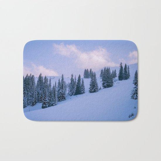 The Winter Woods Bath Mat