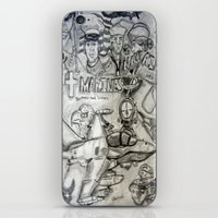 military iPhone & iPod Skins featuring Military by Amanda McCrory