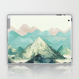 Mountains Landscape Watercolor Laptop & iPad Skin