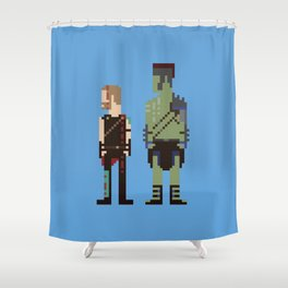 Friends From Work Shower Curtain