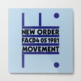 Movement Metal Print