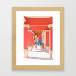 Mexican Storefront Framed Art Print
