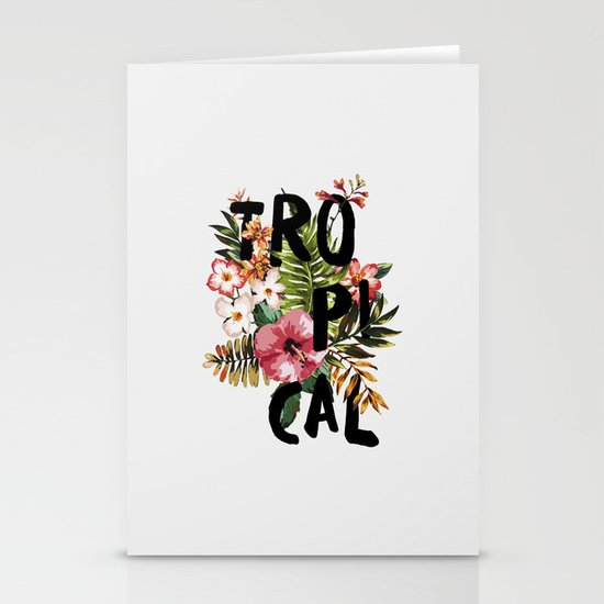 Tropical I Stationery Cards