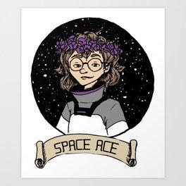 Space Ace Art Print