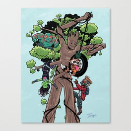 KinderGuardians Canvas Print